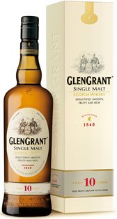 Glen Grant Scotch Single Malt 10 Year 750ml